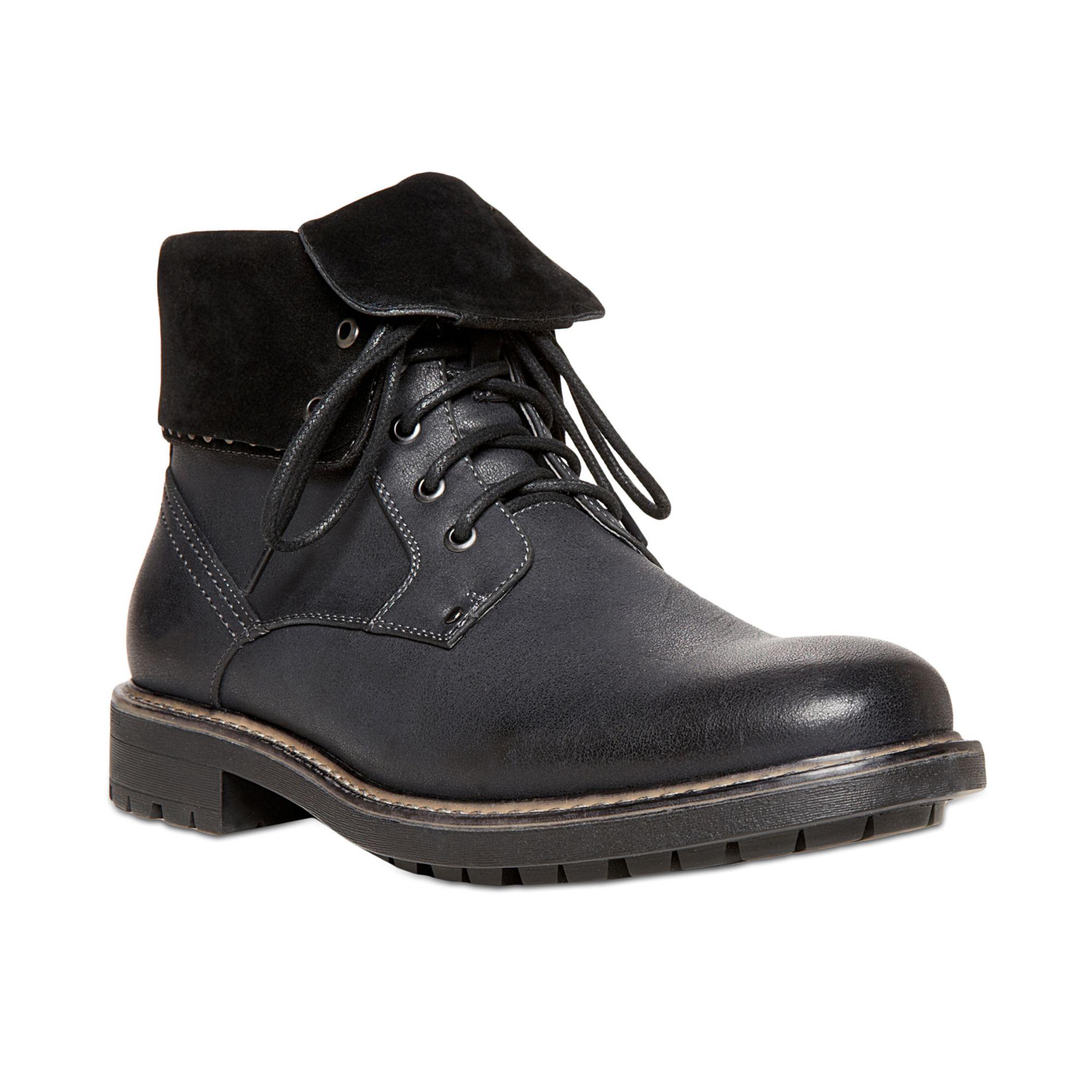 Steve Madden Mens Black Shoes