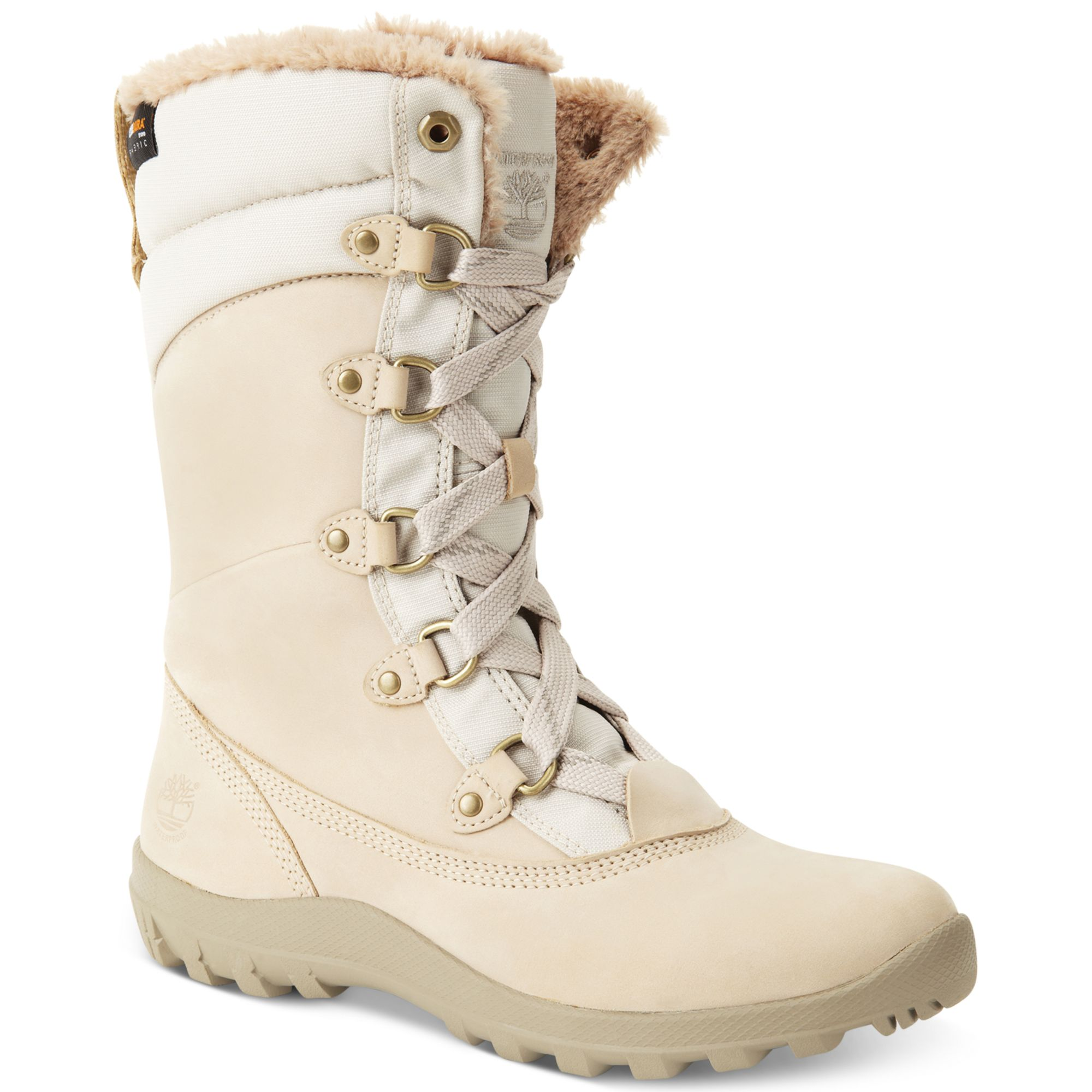 8cd5d0d2dd5 Timberland Natural Mount Hope Snow Boots