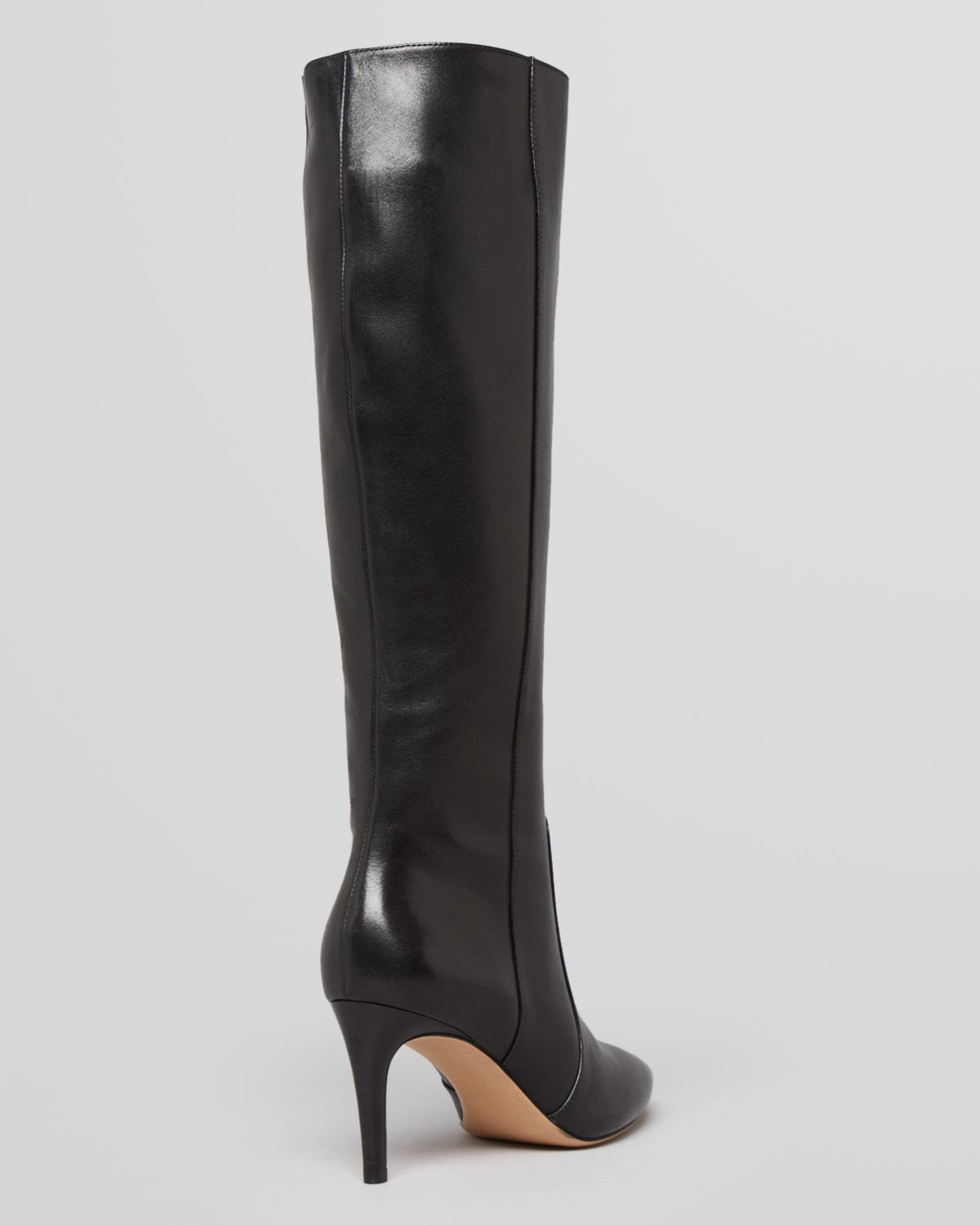 13bea889375 Via Spiga Pointed Toe Tall Dress Boots Dacia High Heel in Brown - Lyst