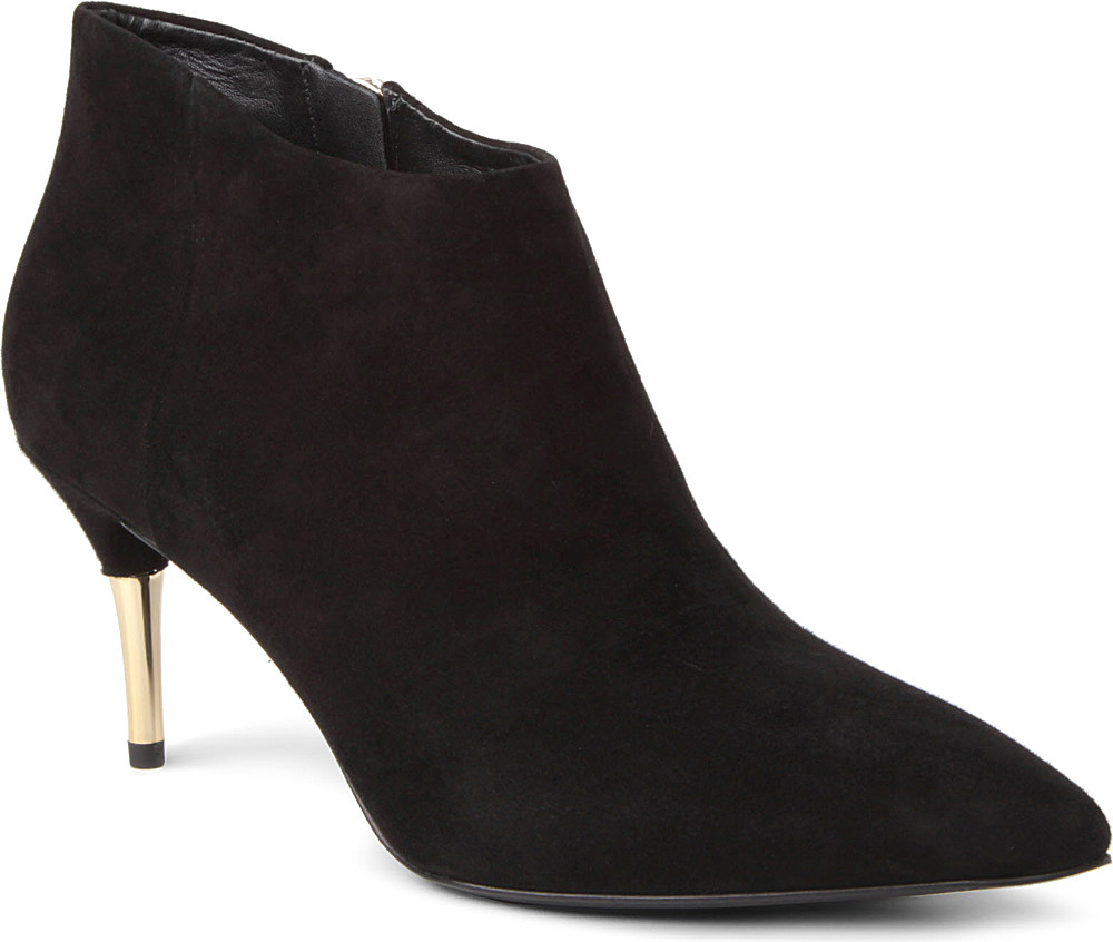 b brian atwood mcalester suede shoe boots in black save