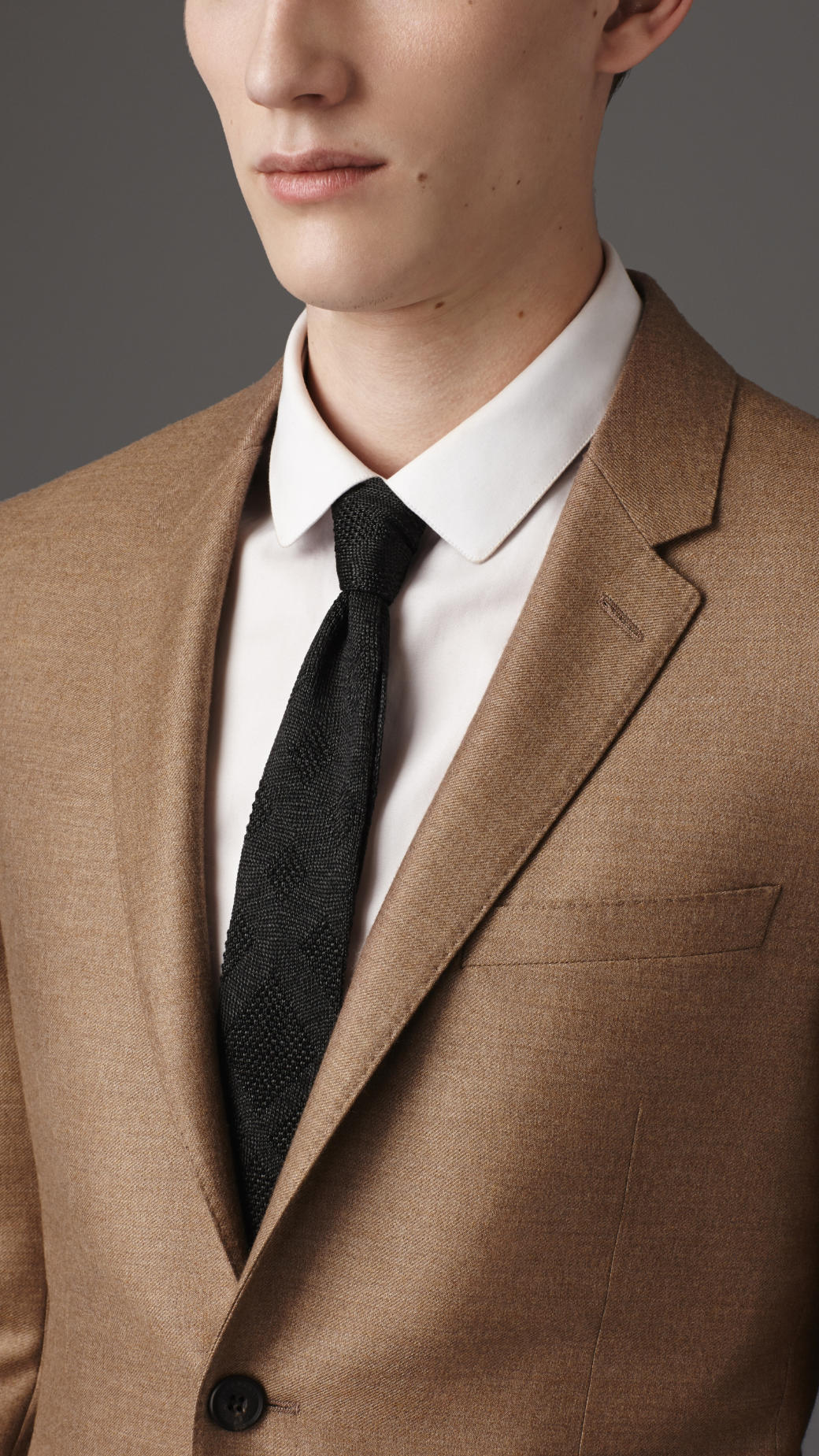 Lyst Burberry Slim Fit Lightweight Cashmere Suit In
