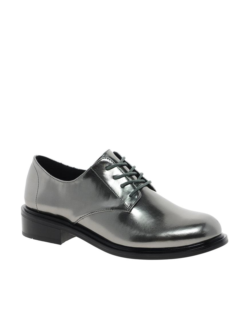 Women Textile Oxford Shoes