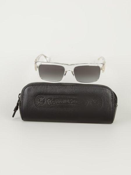 Chrome Hearts Gmoney Sunglasses In Transparent For Men