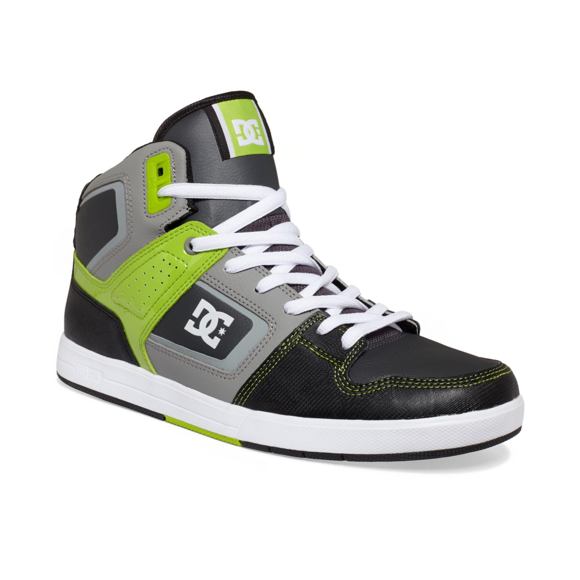 DC Shoes Factory Lite Hi Sneakers in