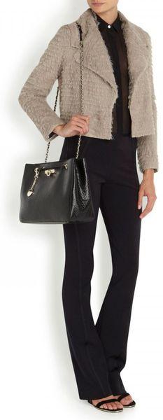 Dkny Pebbled Leather Shoulder Bag 36