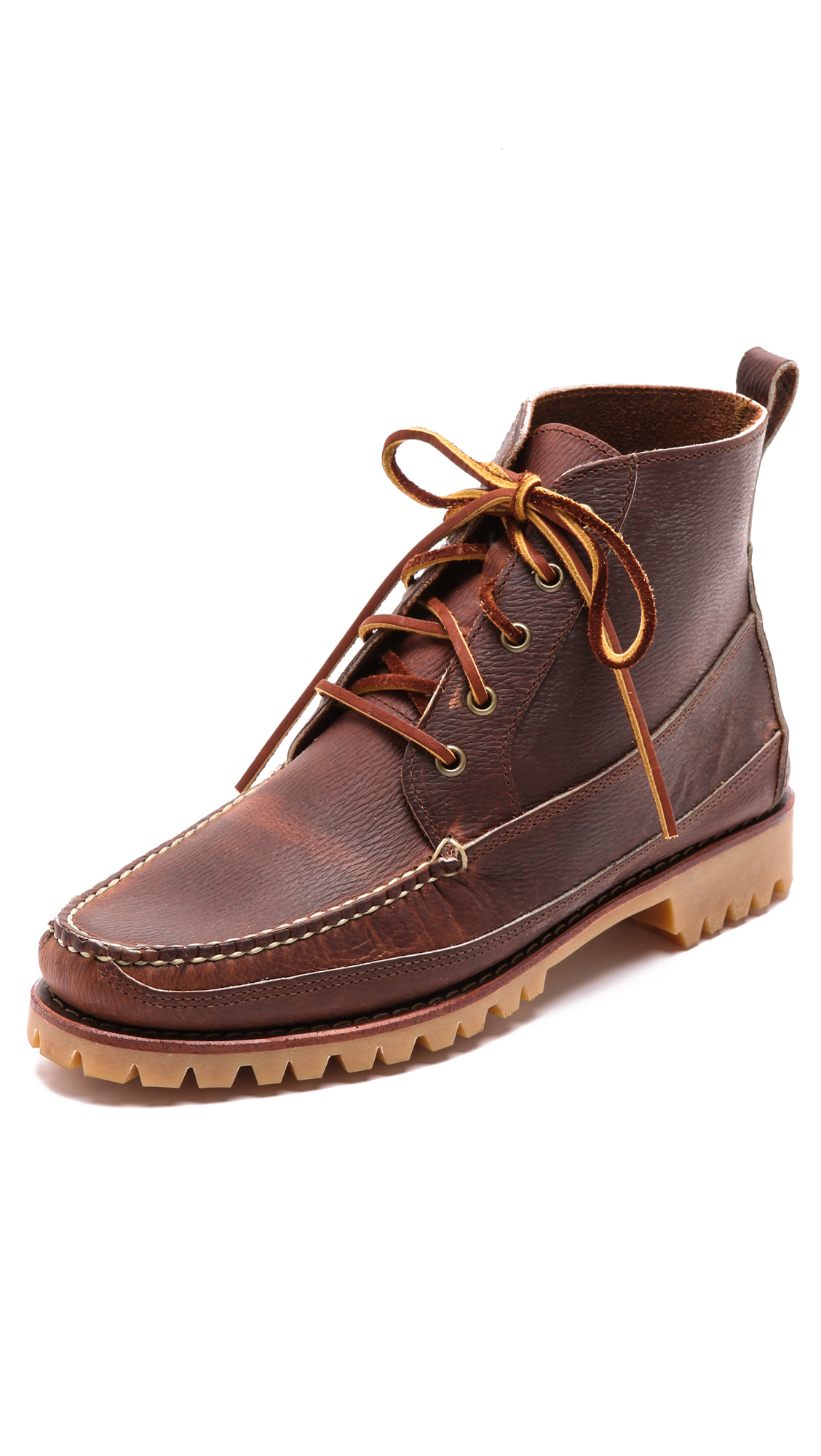 Lyst Eastland Kennebunk Usa Boots In Brown For Men