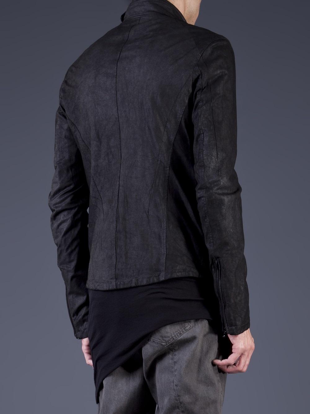 Lyst Julius Fencing Jacket In Black For Men