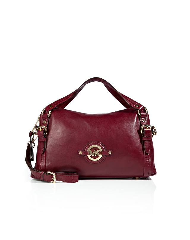 Lyst Michael Michael Kors Leather Stockard Shoulder Bag