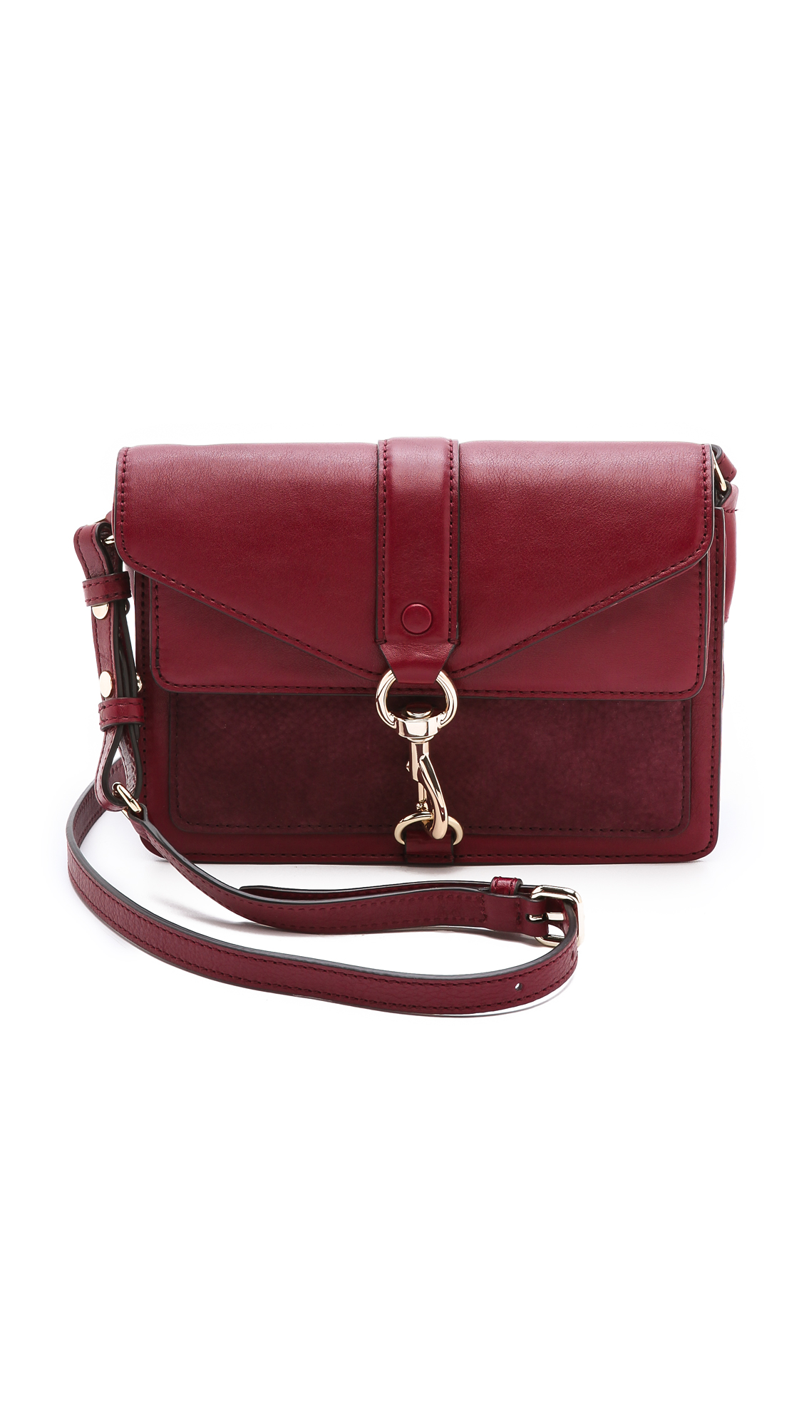 minkoff hudson moto mini bag in lyst