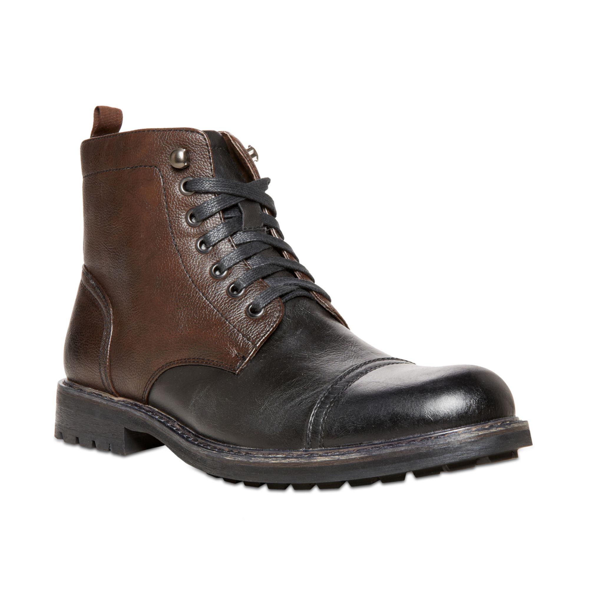 steve madden madden mens shoes ignite captoe boots in