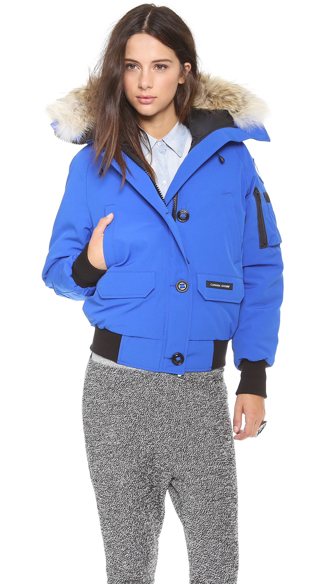 c21a8e9bd395 ... where can i buy gallery. previously sold at shopbop womens canada goose  chilliwack 7689d 8b791