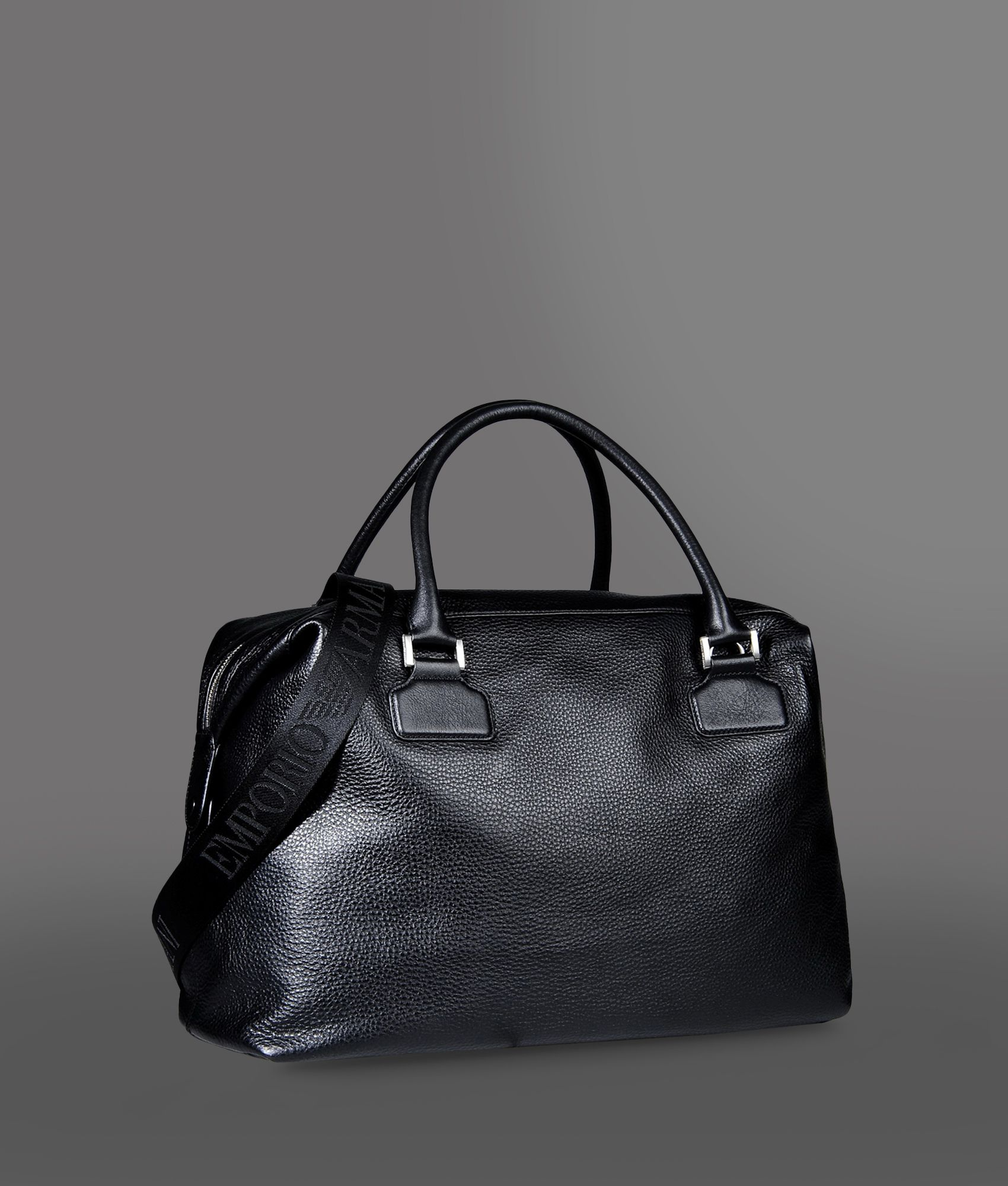 Lyst - Emporio Armani Travel Bag in Black for Men 202a6ea4f6