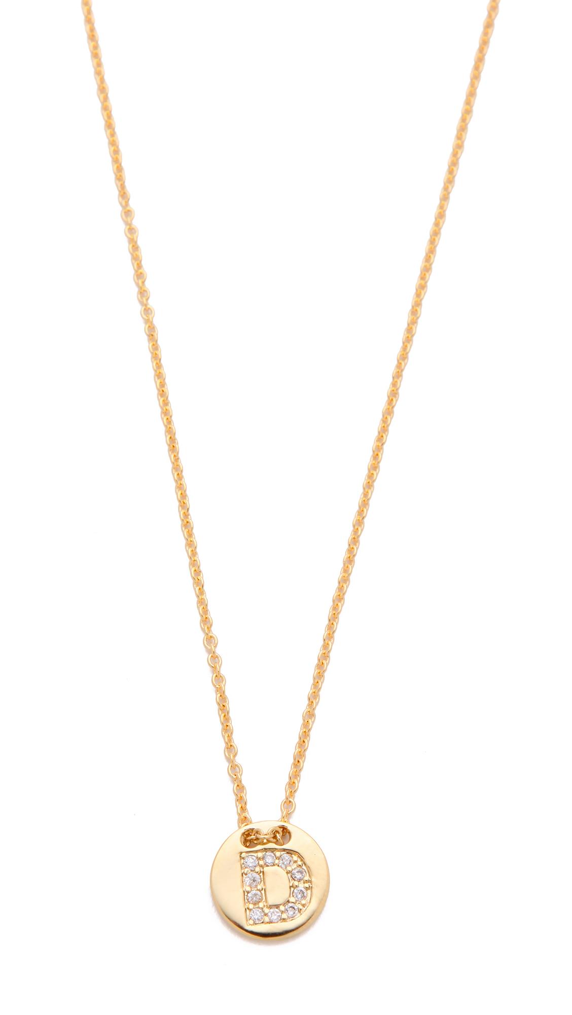 gorjana greer v neck necklace in gold d lyst