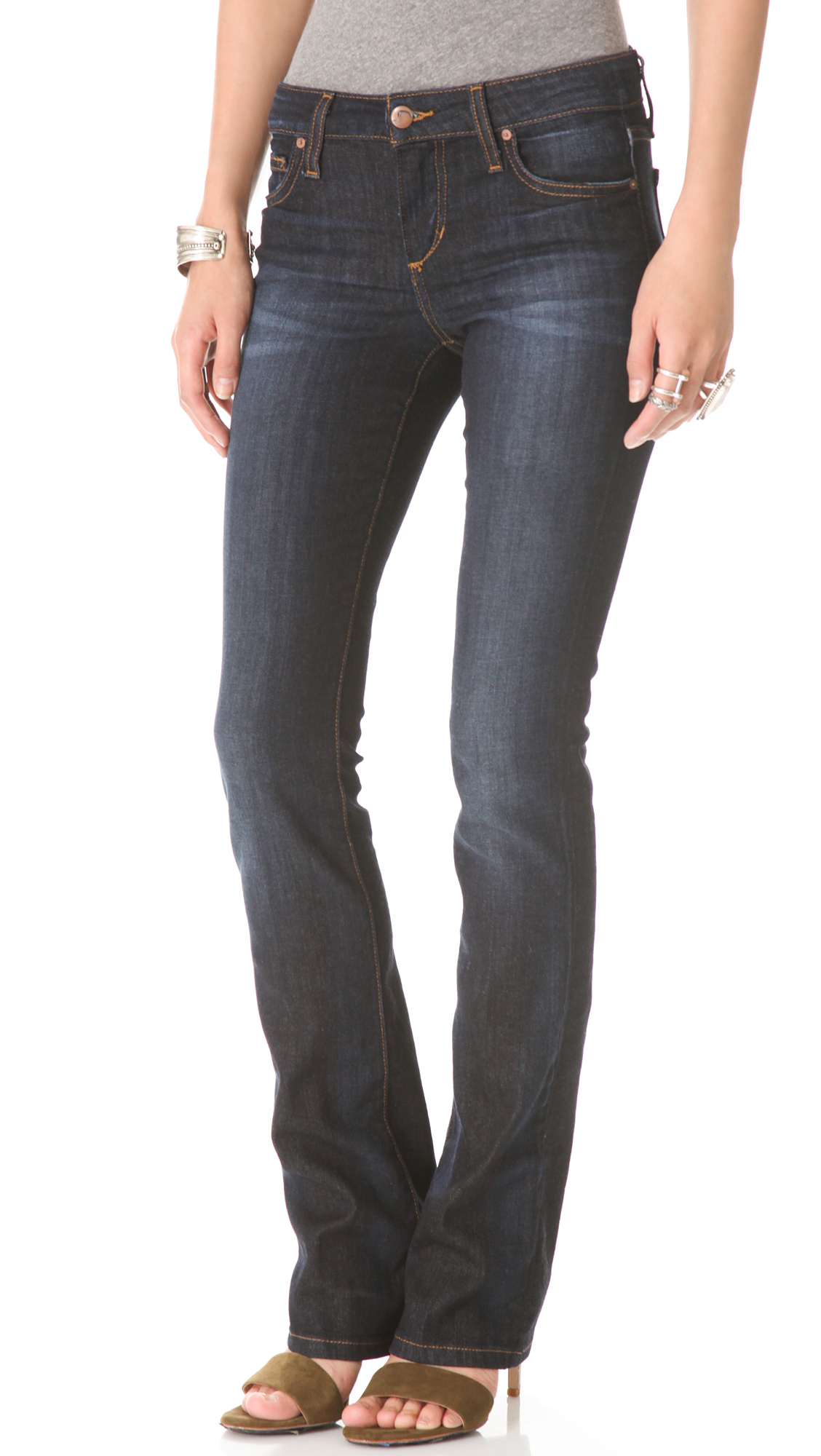 lyst joe 39 s jeans classic boot cut jeans in blue. Black Bedroom Furniture Sets. Home Design Ideas