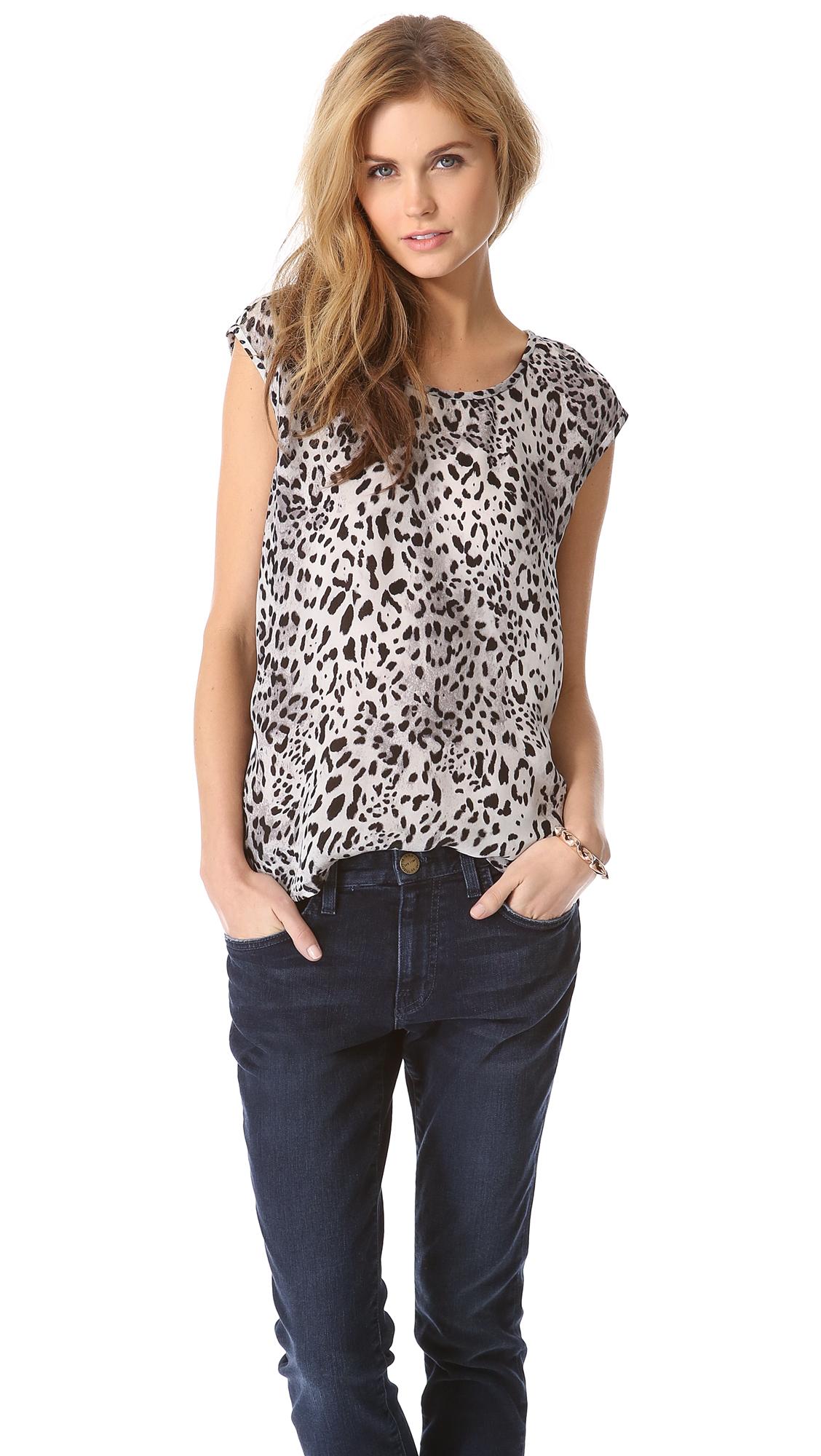 Men Leopard Shirt