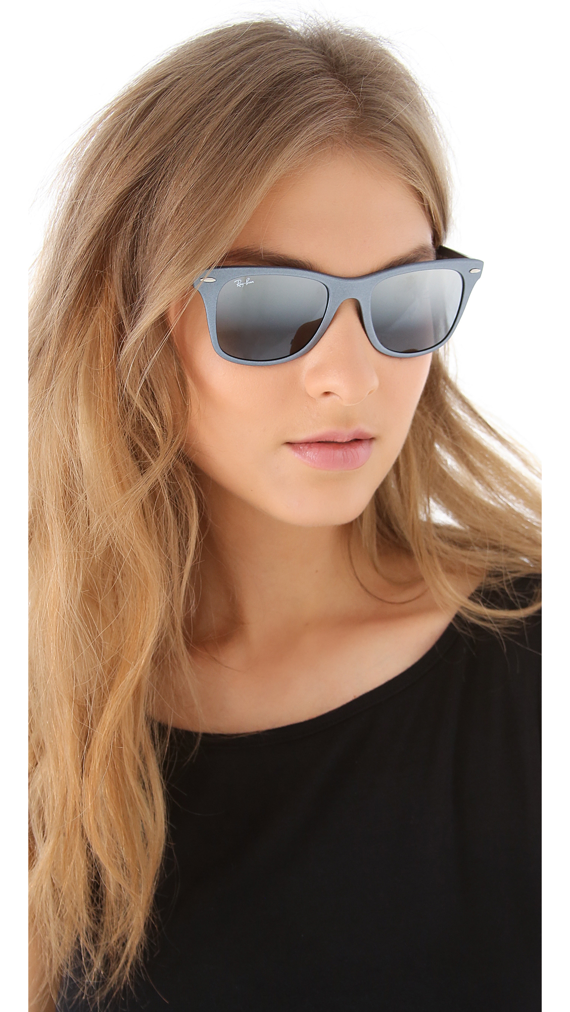 Ray Ban Gray Gradient Wayfarer