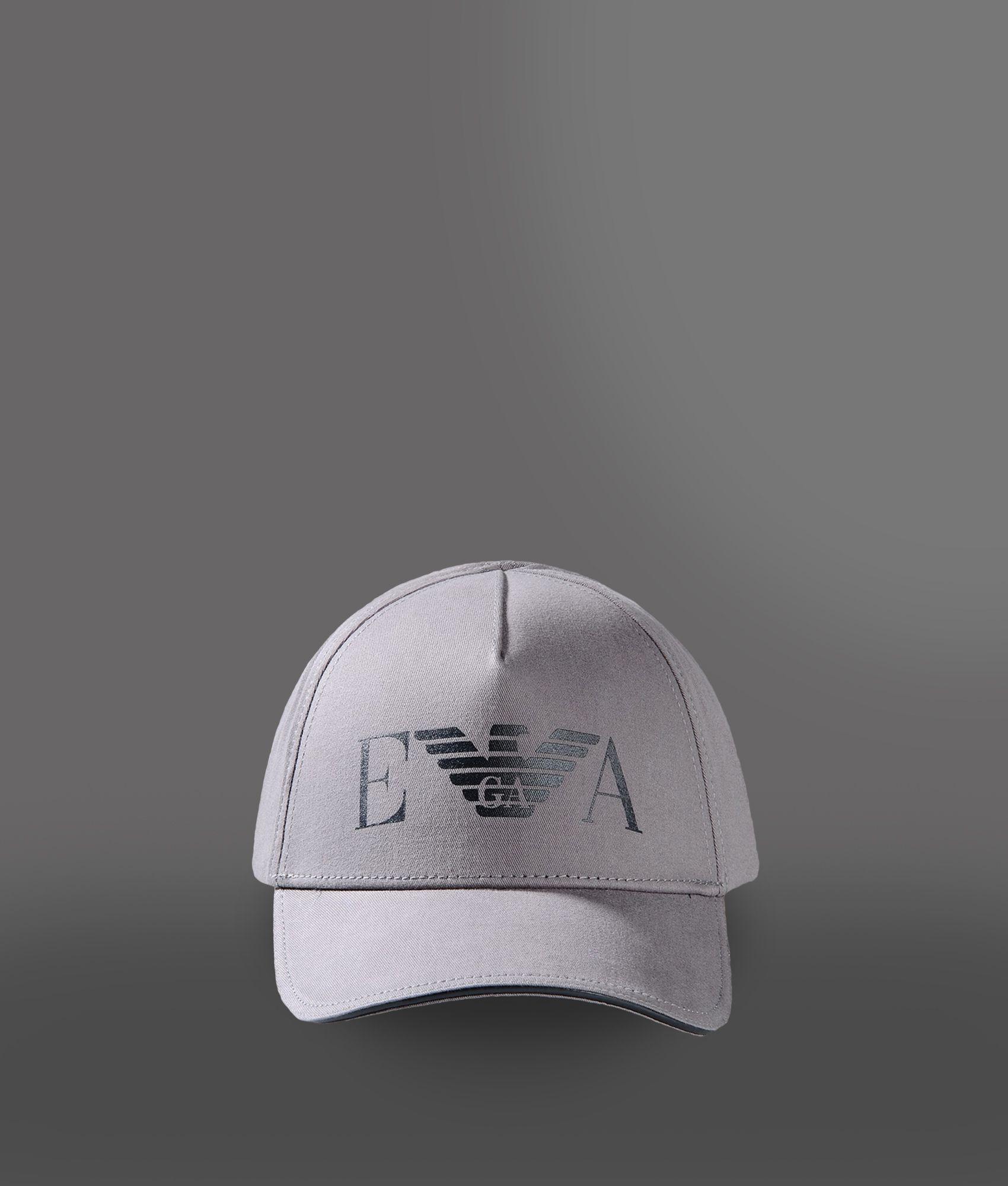 Lyst - Emporio Armani Cap in Gray for Men 0a9b3dc26fa