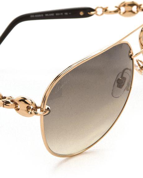Gold Aviator Sunglasses For Women Aviator Sunglasses in Gold