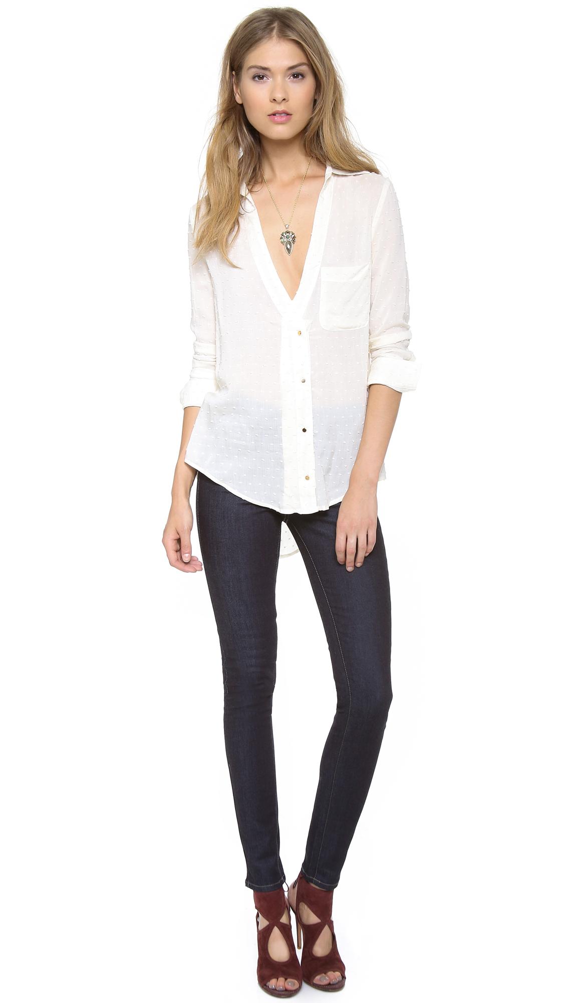 Paige Denim Hoxton Ultra Skinny Jeans - Evolve In Blue