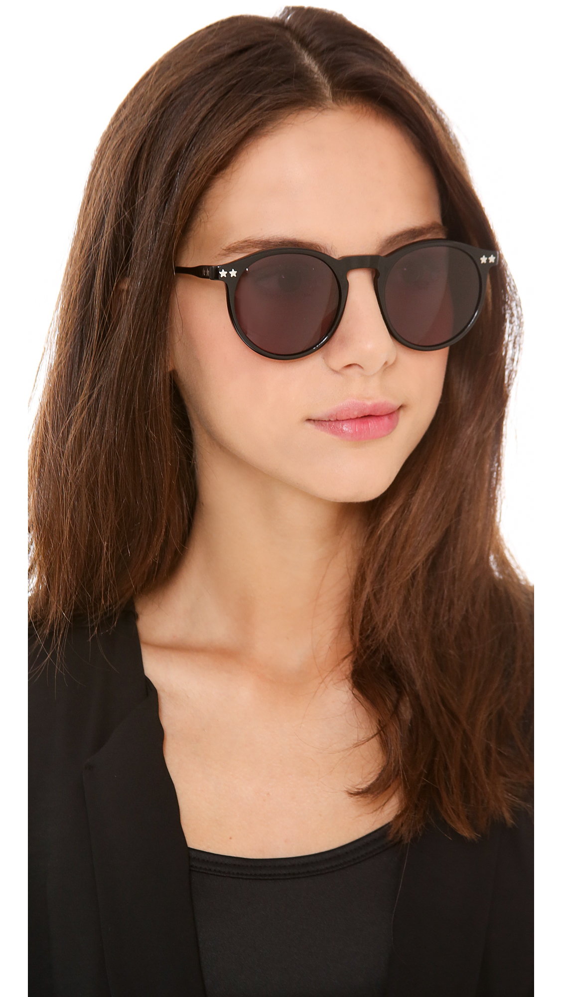7ad98d6f9a Lyst - Wildfox Steff Sunglasses in Black