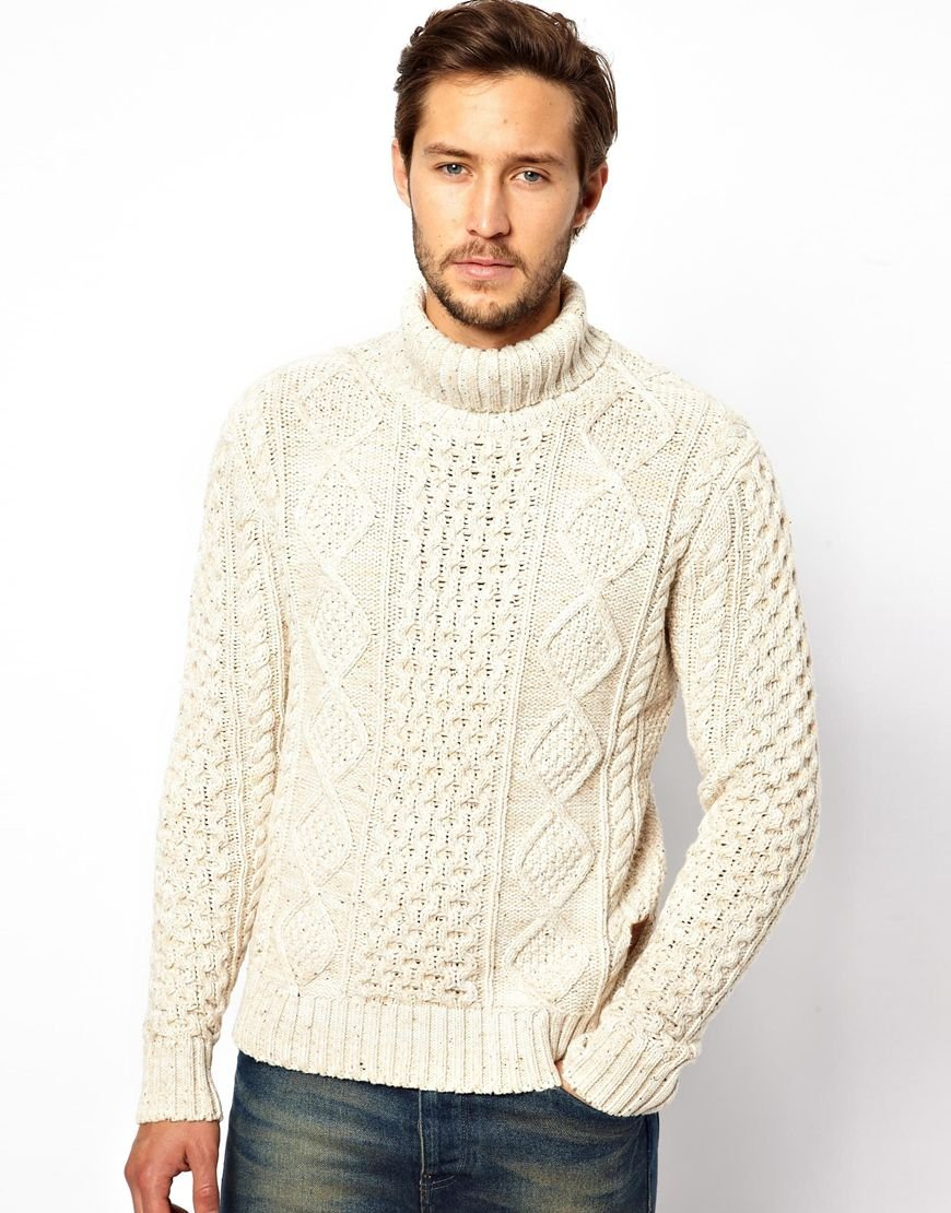 Find mens chunky roll neck at ShopStyle. Shop the latest collection of mens chunky roll neck from the most popular stores - all in one place.