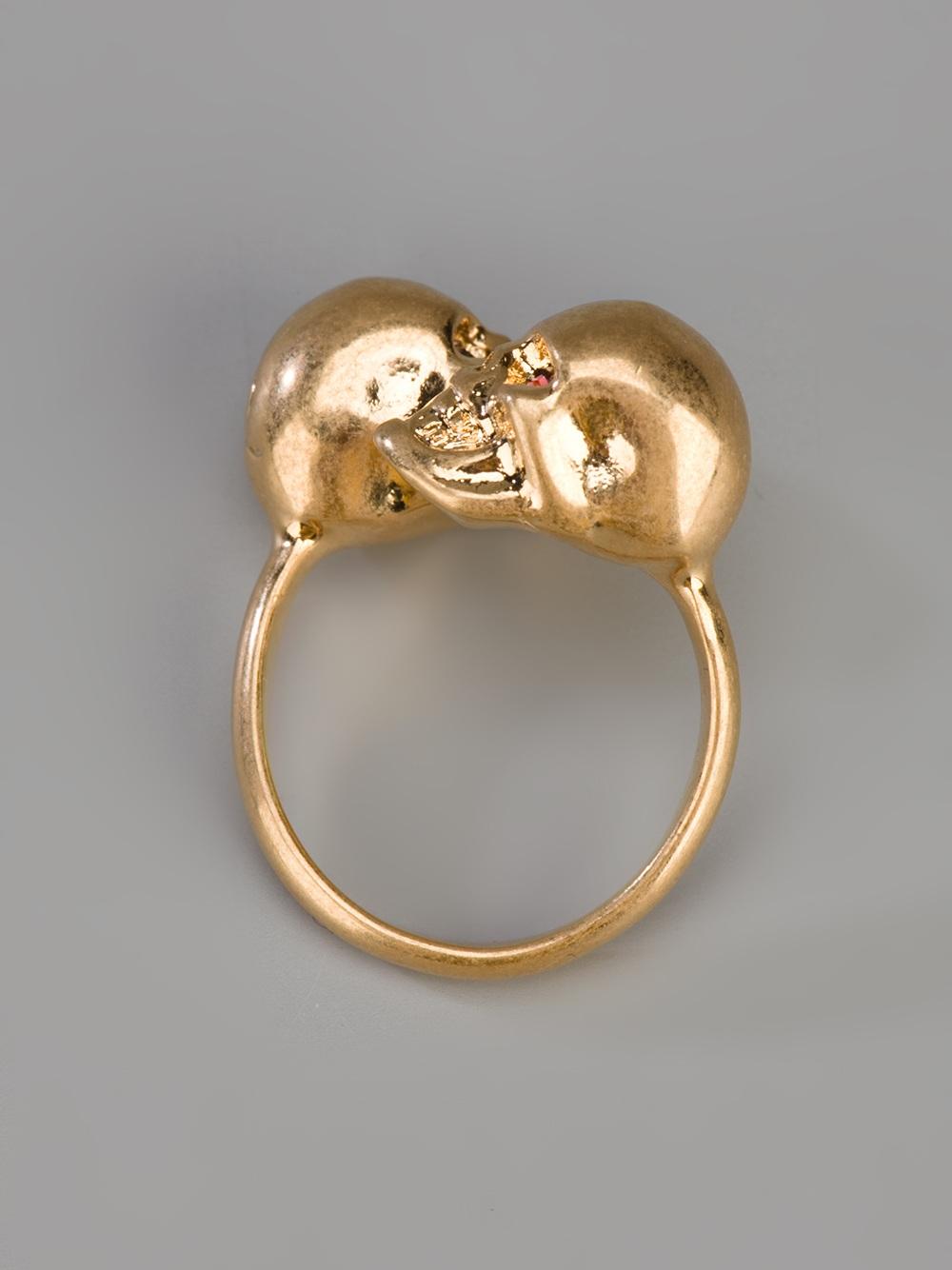 Multi-finger ring Alexander McQueen 7WkIhRnSu
