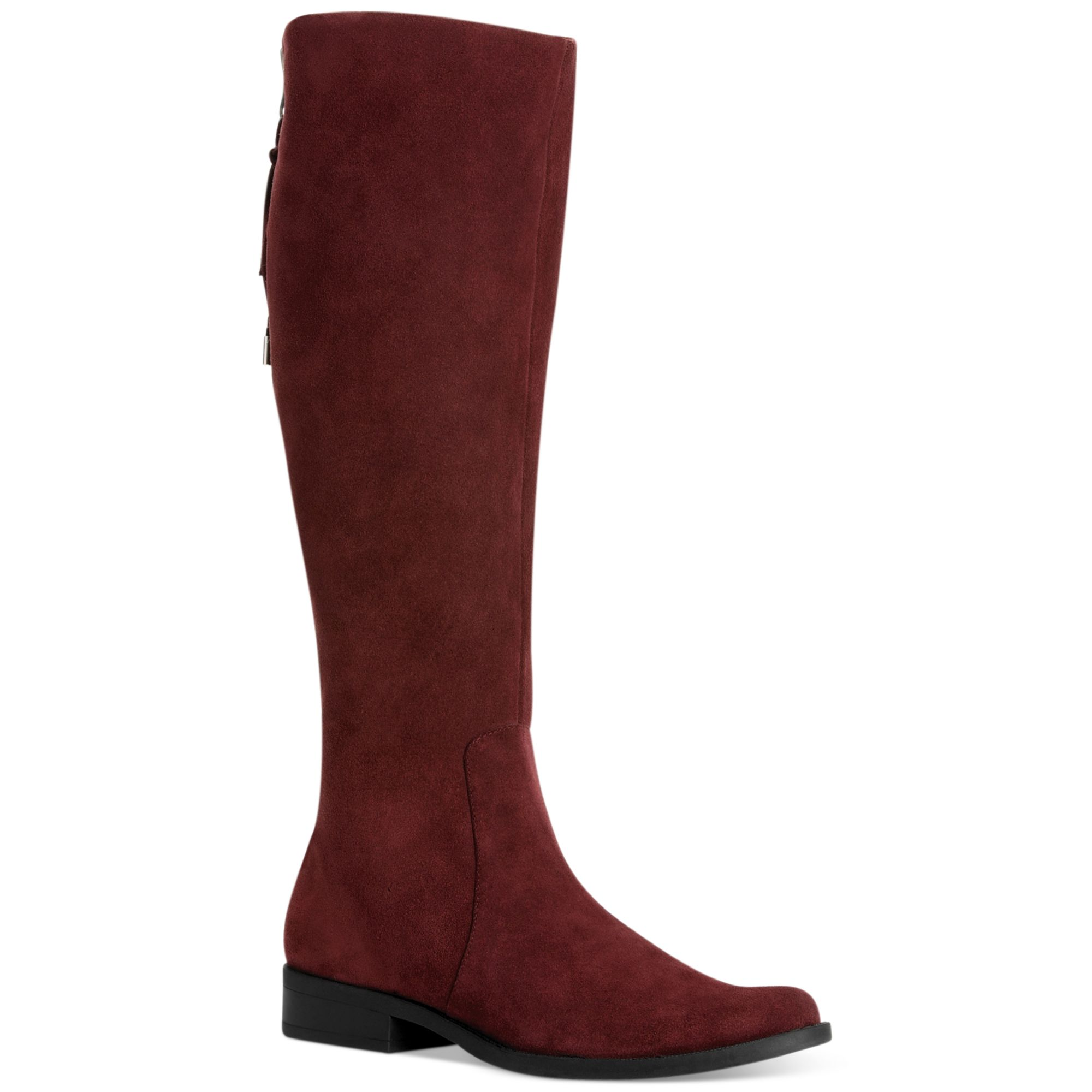 calvin klein taylin wide calf boots in