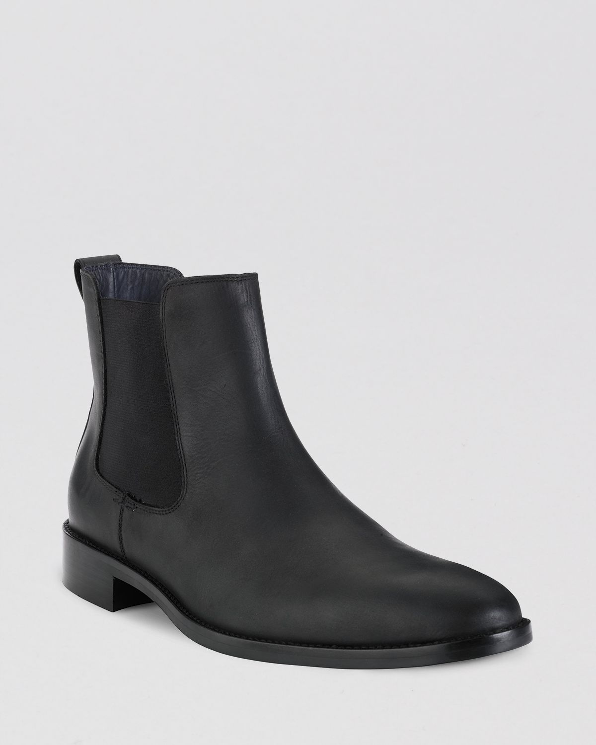 cole haan lenox hill leather chelsea boots in black for
