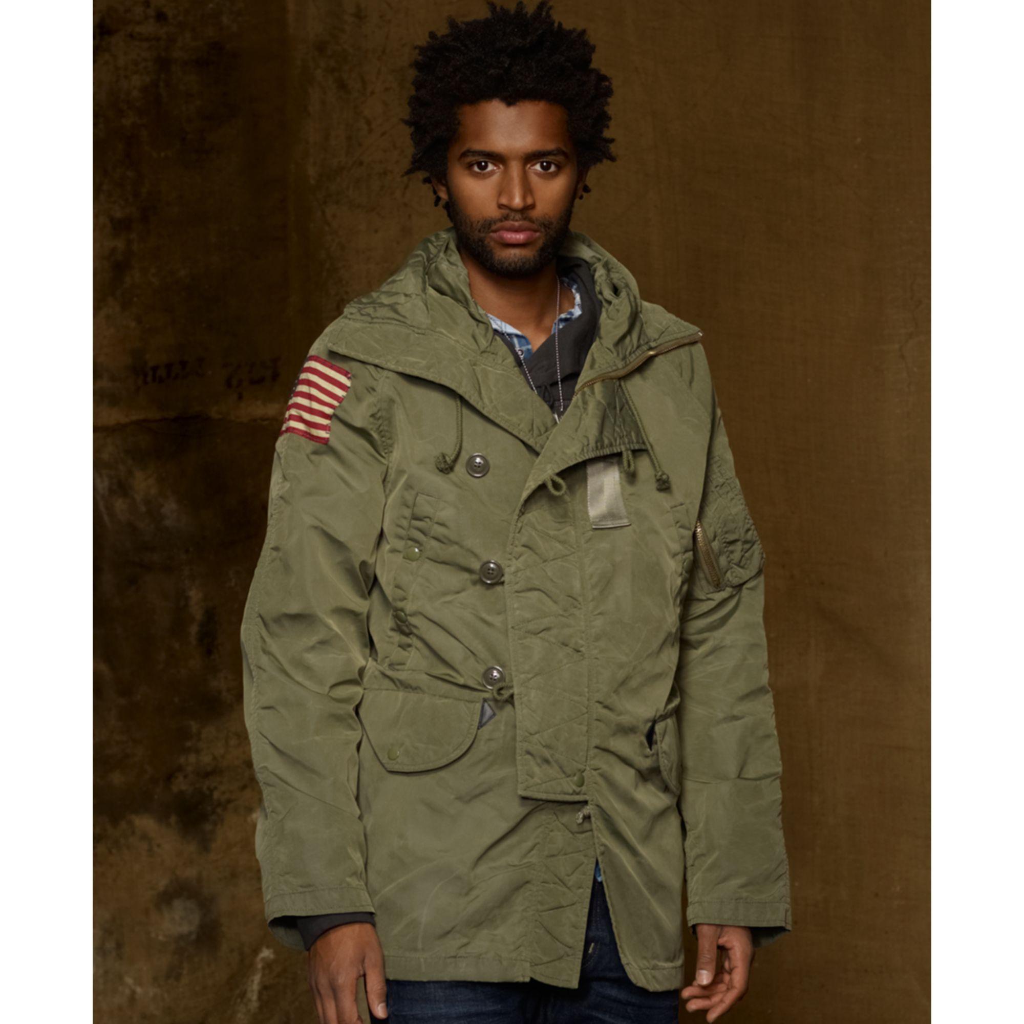 a47e9667c6aa2 Denim & Supply Ralph Lauren Down Snorkel Jacket in Green for Men - Lyst