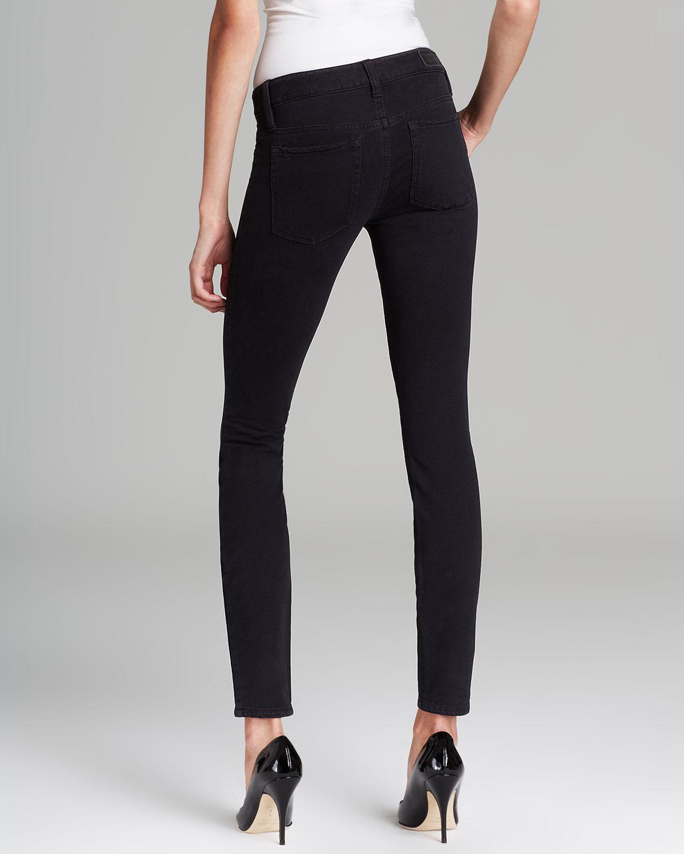 9c1af7526a0e7 Guess Jeans Brittney Legging in Black Silicone in Black - Lyst