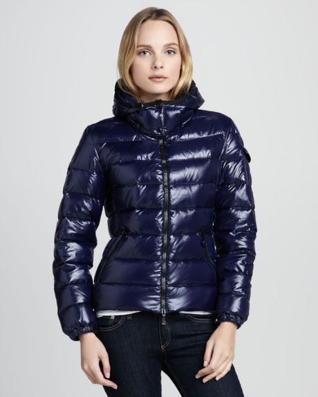Moncler Bady Short Puffer Jacket In Blue Lyst
