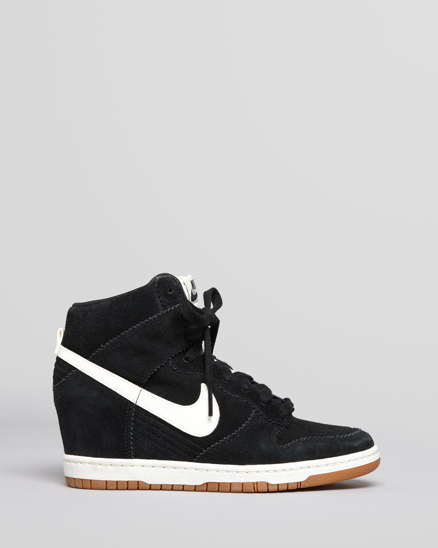 Lyst - Nike High Top Wedge Sneakers Dunk Sky Hi in White ea7341475816