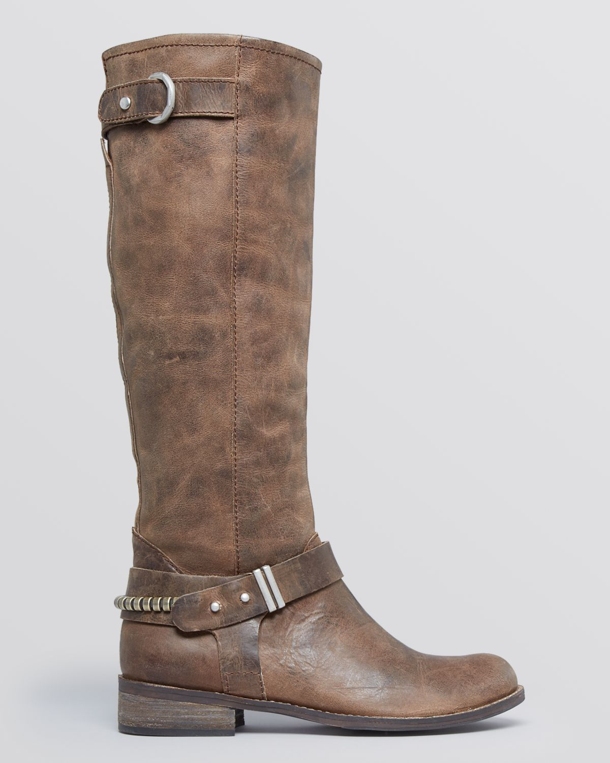 Steven by Steve Madden Riding Boots Ryley in Black (Grey)