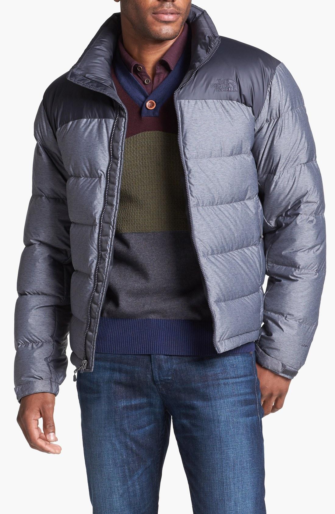 e41e6bfa55b5 north face nuptse jacket asphalt grey