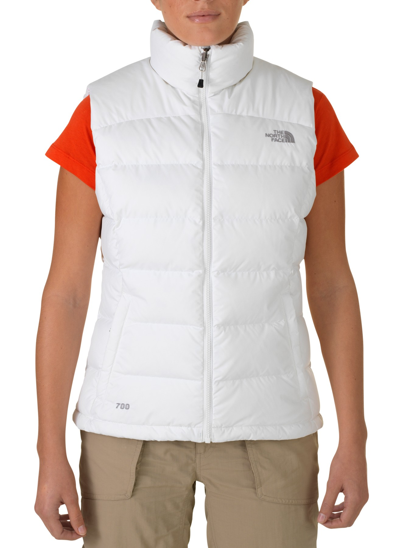 The North Face Nuptse 2 Gilet in White - Lyst 673ce3eb2