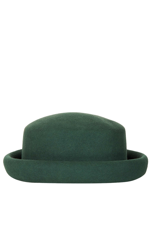 TOPSHOP Pork Pie Hat in Green - Lyst e524e3fa465