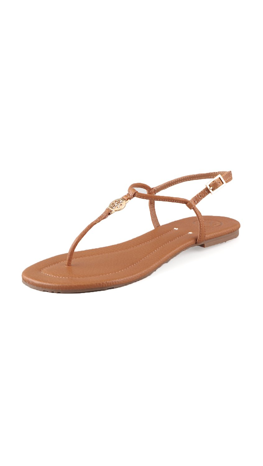 TORY BURCH FLIP FLOPS. Step out in seasonal style with a pair of Tory Burch flip-flops. Make a big splash around the next pool or deck gathering with a cheerful array of pool slide sandals.