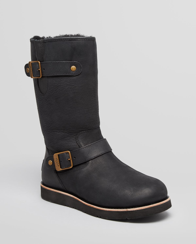 Ugg Moto Boots Kensington Ii In Black Lyst