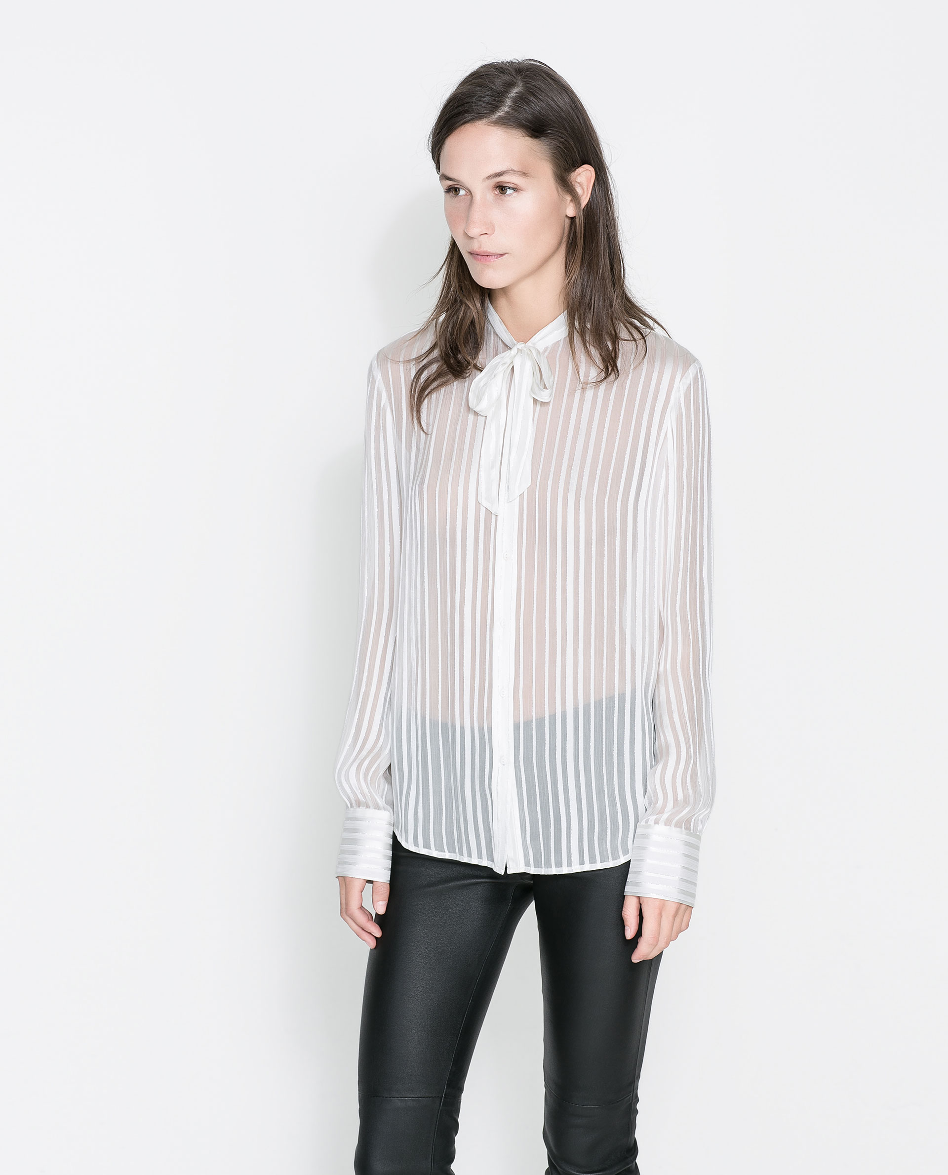 Zara Silk Blouse 114