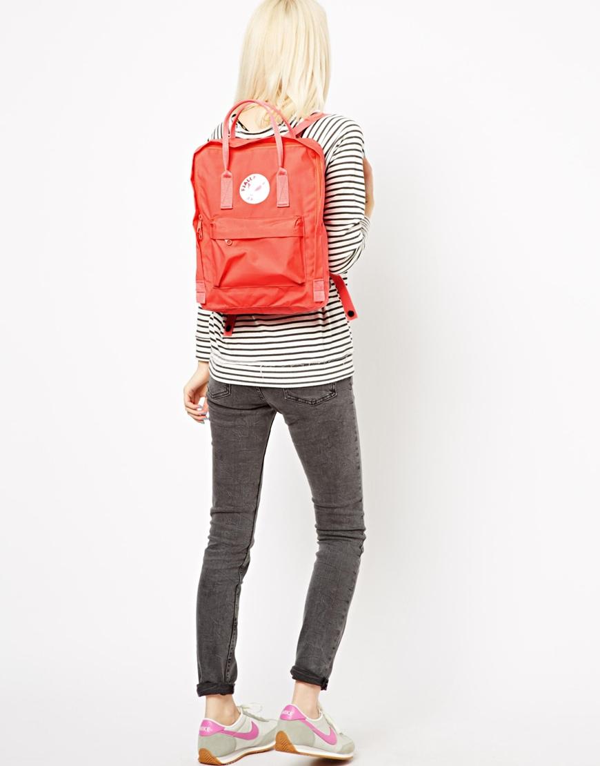 kanken backpack asos