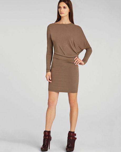 Bcbgmaxazria Stelah Draped Sheath Dress