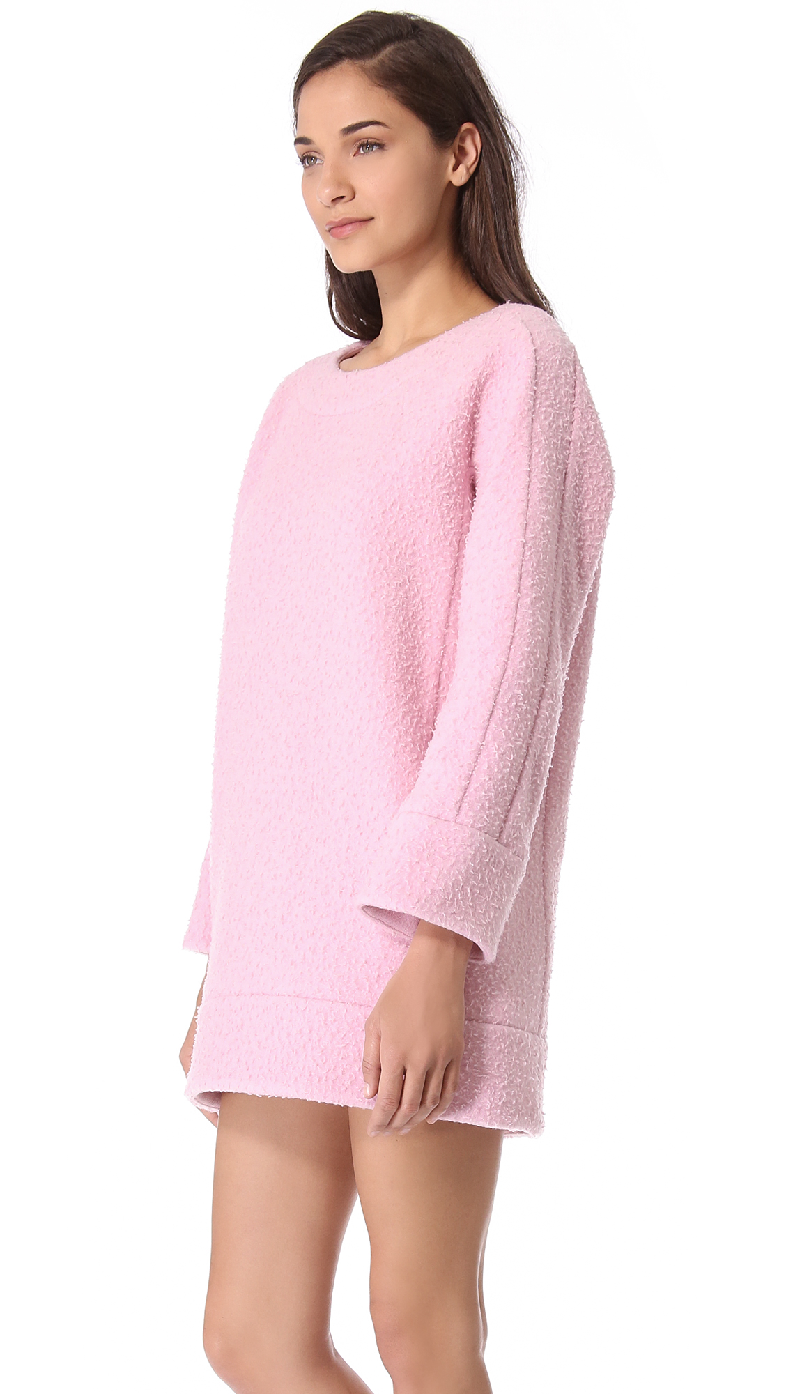 Pink Sweater Dress Cocktail Dresses 2016
