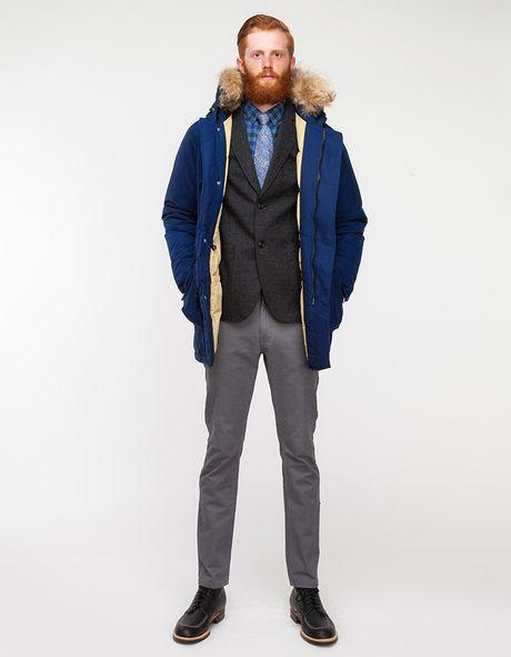 woolrich arctic parka in blue for men dark royal lyst. Black Bedroom Furniture Sets. Home Design Ideas