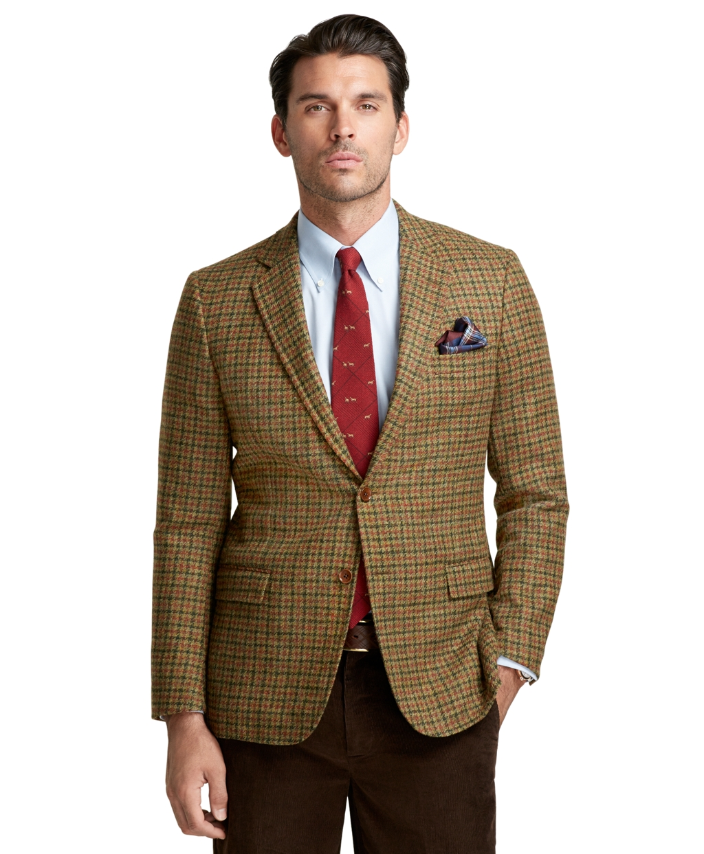 Lyst Brooks Brothers Fitzgerald Fit Large Check Sport