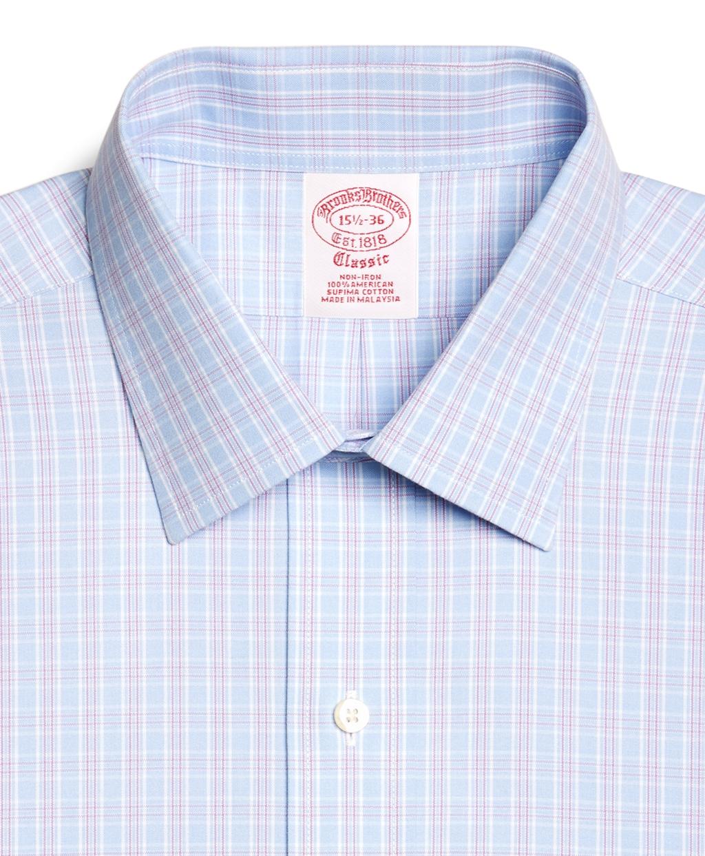 Brooks Brothers Supima Cotton Noniron Regular Fit Spread