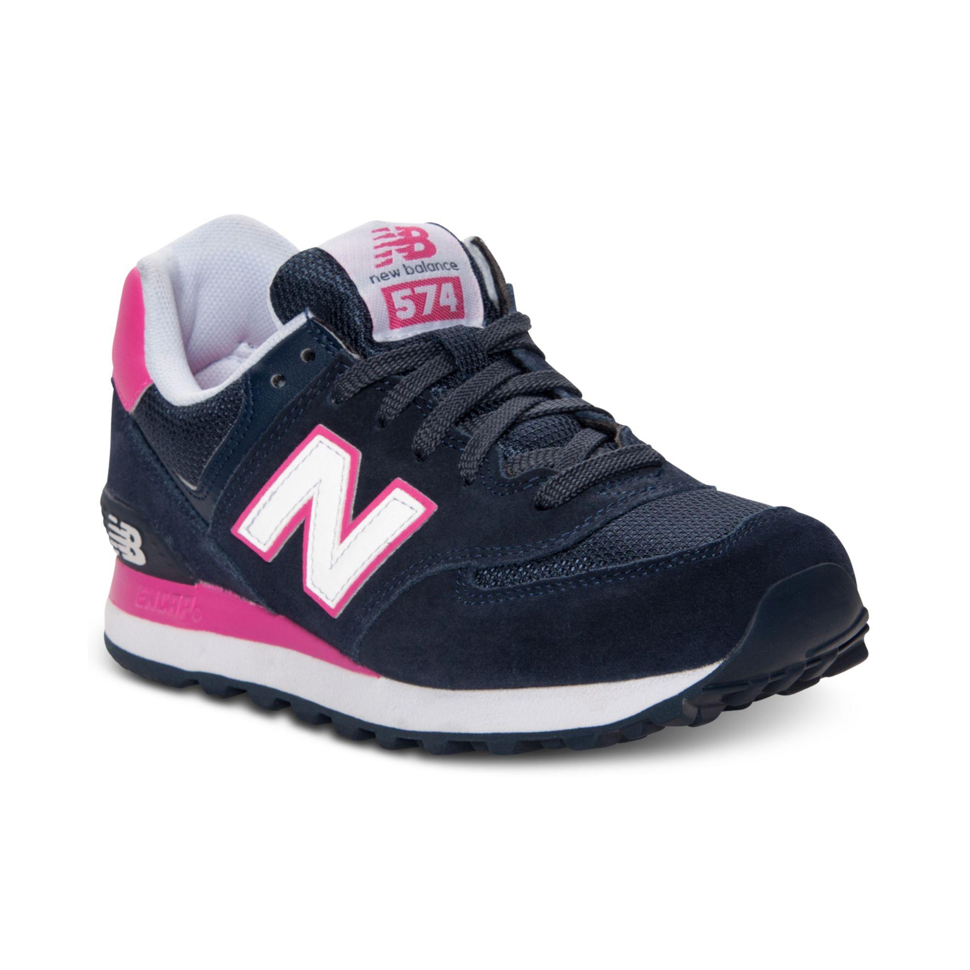 New Balance Black 574 Sneakers