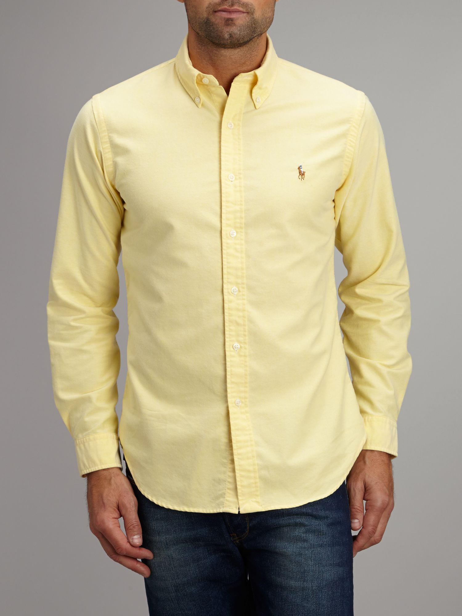 Light Yellow Long Sleeve Shirt Shirts Rock