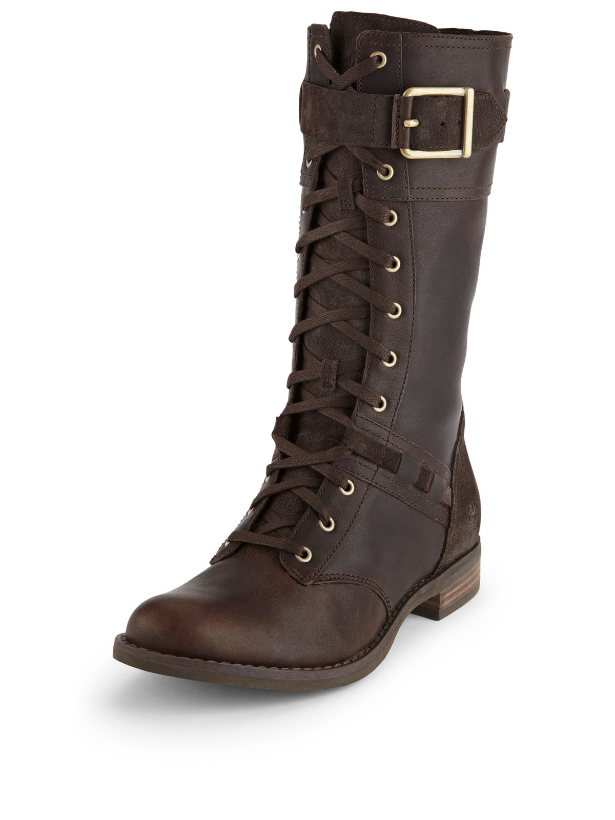 timberland timberland savin hill lace up knee boots in