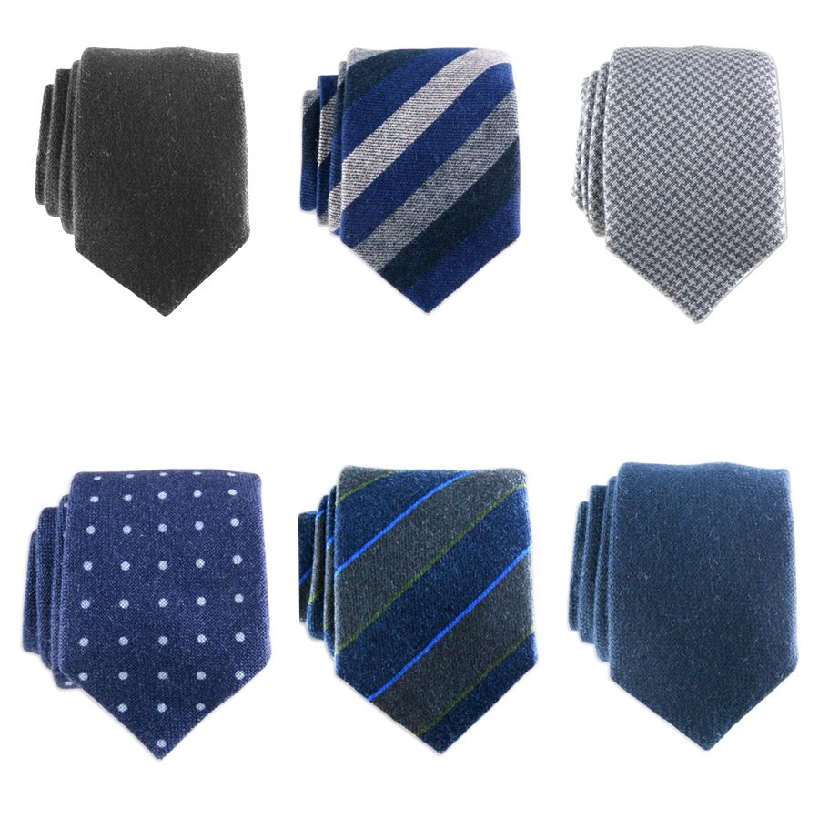Black Co Uk Midnight Navy Blue Cashmere Tie In Blue For