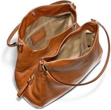Coach Large Black Leather Shoulder Bag 22